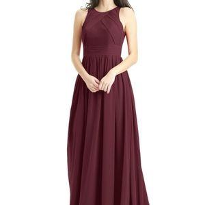 AZAZIE Harper Dress in Cabernet